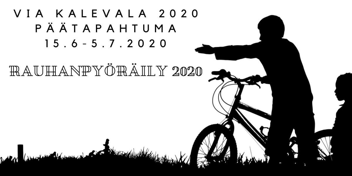 rauhanpyöräily 2020 tapahtuma